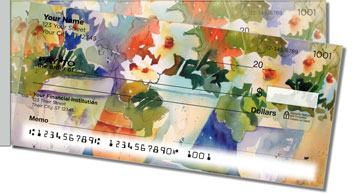 Pots and Pets Side Tear Personalized Checks