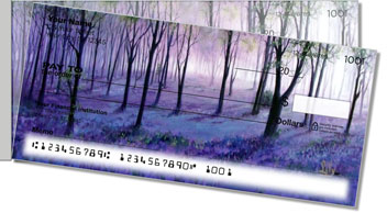 Misty Tree Side Tear Design Checks