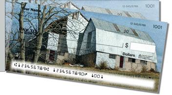 Summer Farm Side Tear Personalized Checks