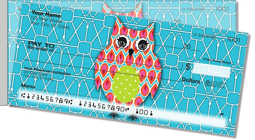 Puma Colorful Owls Side Tear Personal Checks