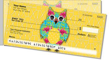 Puma Colorful Owls Side Tear Theme Checks
