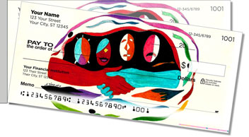 Performing Arts Side Tear Personalized Checks