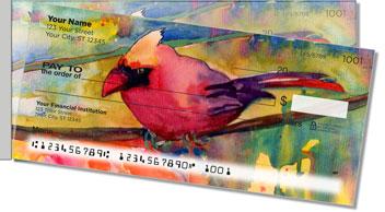 Cardinals Side Tear Design Checks