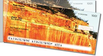 Mineral Streak Side Tear Personalized Checks