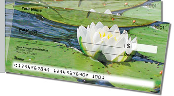 Water Lily Side Tear Design Checks