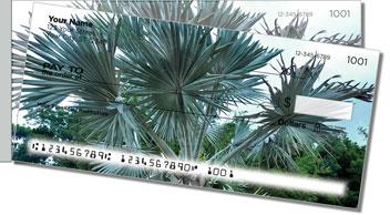 Palm Tree Side Tear Design Checks