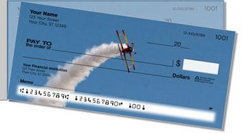 Aerobatic Air Show Side Tear Theme Checks
