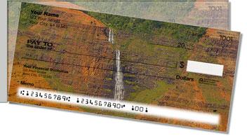 Waterfalls in Paradise Side Tear Design Checks