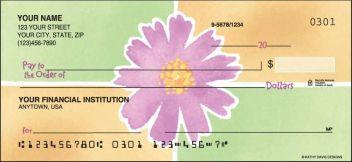 Watercolors Flowers Theme Checks